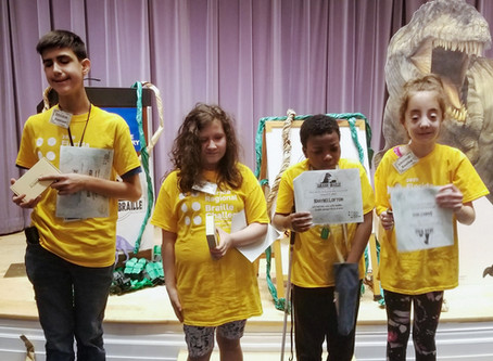 Regional Braille Challenge Takes Students Back in Time