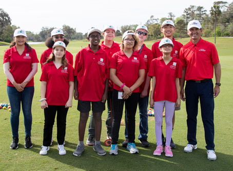 Smiles, Laughs a Constant at Strano's Golf Clinic for FSDB Students