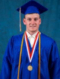 Gage Vanderwerf BHS Co-Valedictorian 201