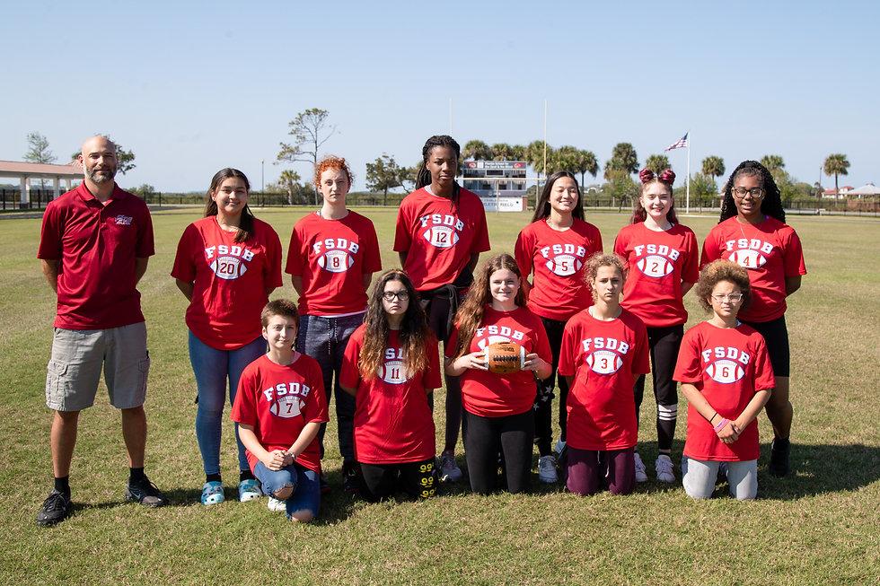 FSDB Flag Football team 2020-21.
