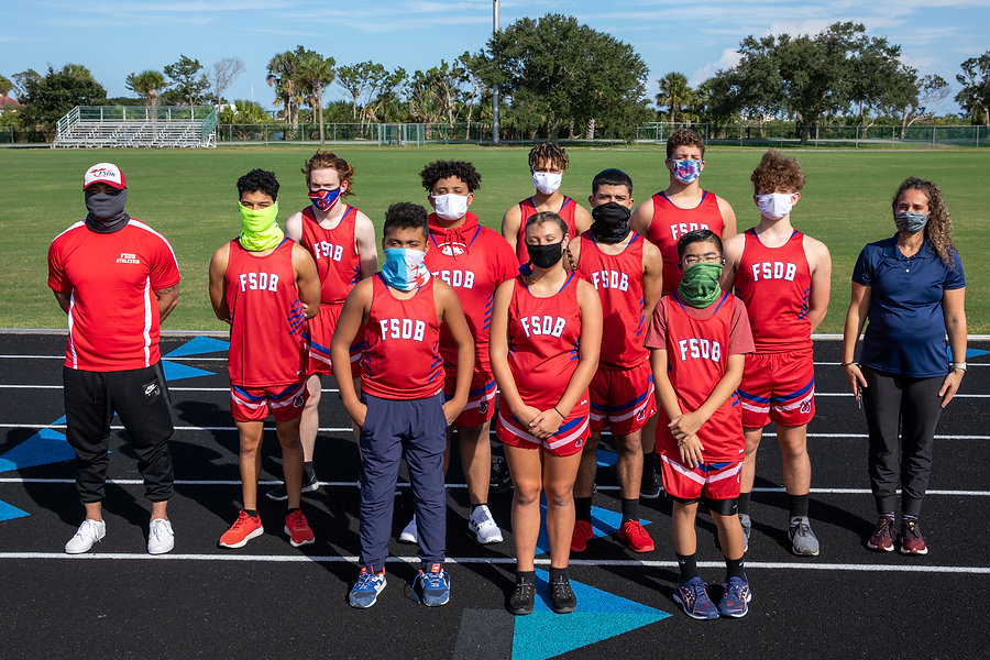 FSDB Cross Country Team 2020-21
