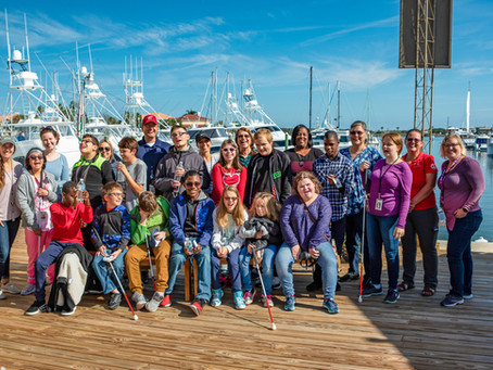St. Augustine Sailing Hosts Students from FSDB