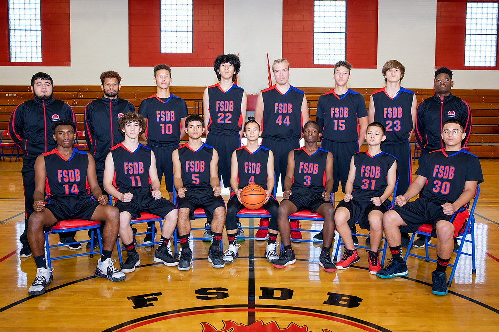 FSDB Boys Basketball Team