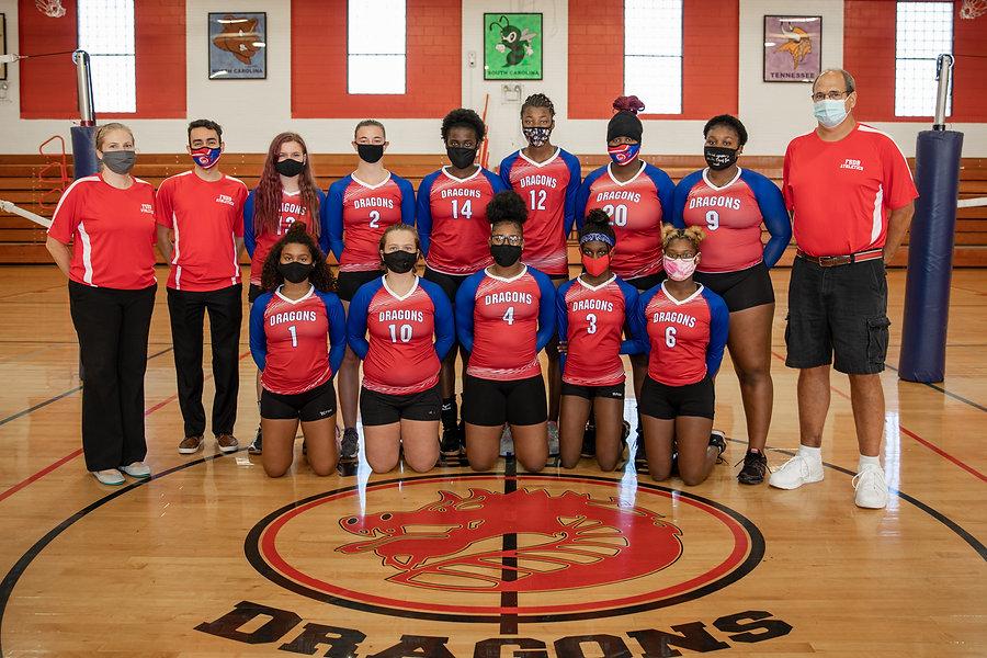 FSDB Varsity Volleyball Team 2020-21