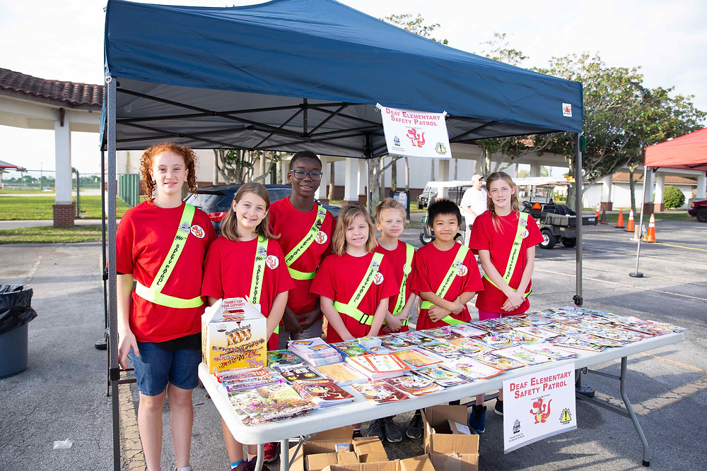 FSDB Deaf Elementary Safety Patrol.