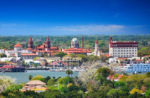Downtown St. Augustine Skyline