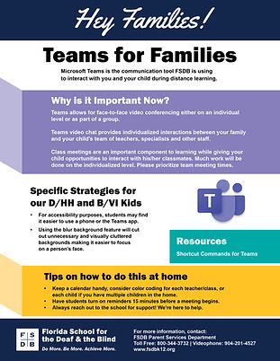 Teams for Families Flyer