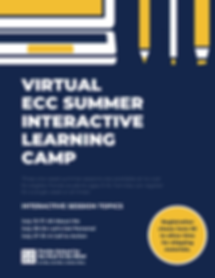 Virtual ECC Summer Interactive Learning Camp