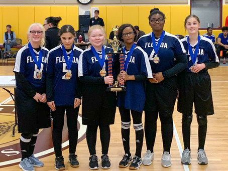 Goalball Teams Repeat as National Champions