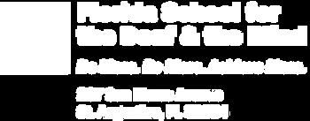 FSDB Logo and tagline. 207 Sa Marco Ave. St. Augusine, L 32084