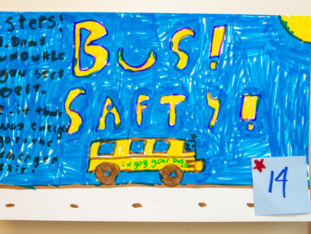 School Bus Safety  Contest Winners