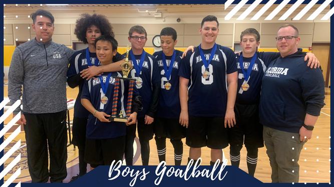 Boys Goalball Team Photo