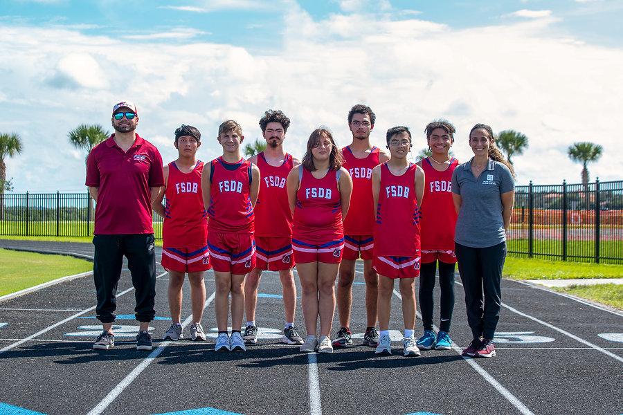 FSDB Cross Country Team 2021-22