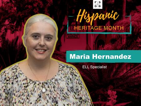 Maria Hernandez: Hispanic Heritage Month