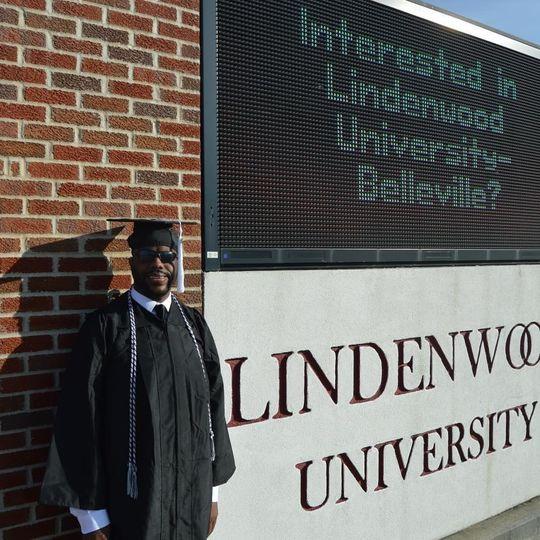 John Charles Kimbrough graduates this weekend from Lindenwood University. (Photo: Ann Kimbrough)