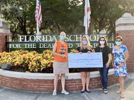 North Shores Improvement Association Donates $10,000 to FSDB
