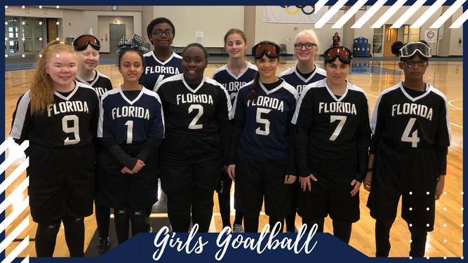 Girls Goalball Team Photo