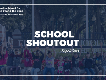 National Shoutout by Deaf High School Students