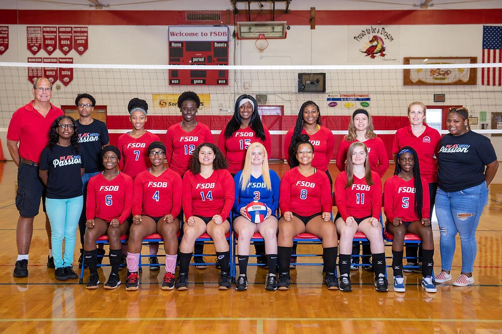 FSDB Varsity Volleyball Team 2019