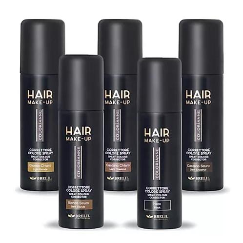 Brelil Hair Make Up Spray Light Chestnut 75ml