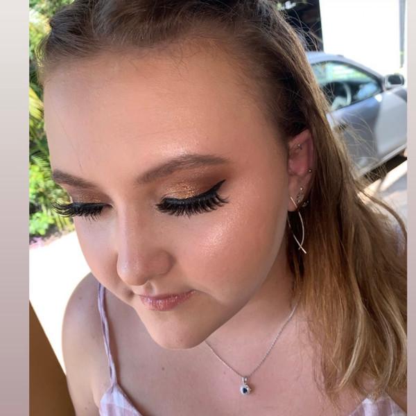 Highschool Formal Makeup 💄