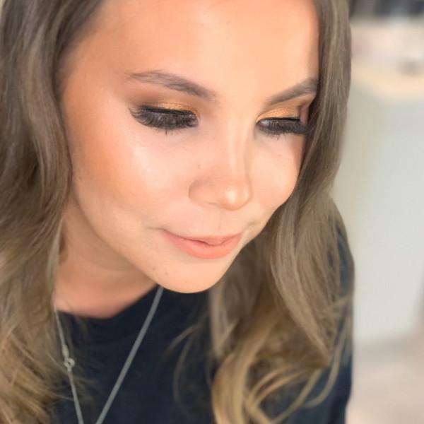 Formal Bronzed Makeover