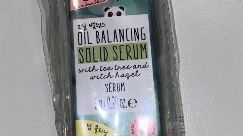 Oh k! S.O.S OIL BALANCING SOLID SERUM