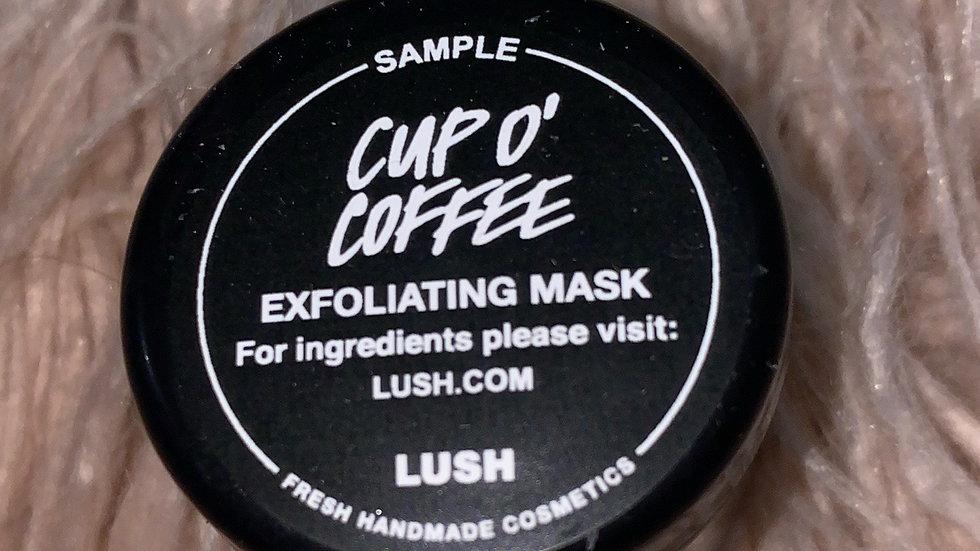 LUSH CUP O' COFFEE EXFOLIATING MASK ☕️☕️