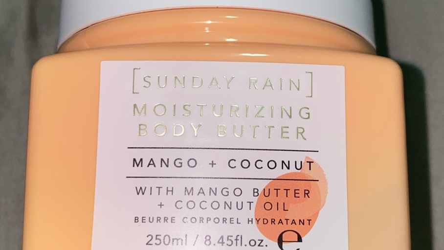 Sunday Rain Mango and Coconut Body Butter