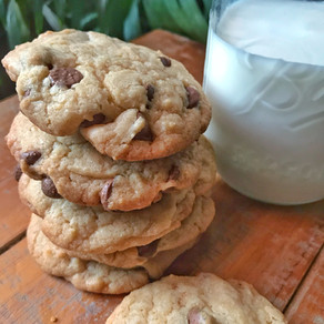 Easy and Perfect 20 minute Chocolate Chip Cookies