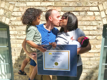 5 Years Later - a Completed Surgical Residency, 2 Kids, and a Marriage.