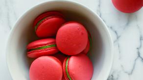 Christmas Red Velvet and Matcha Macarons