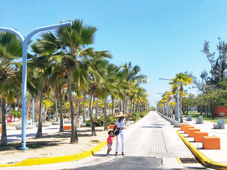 San Juan - We Experience Vibrant Colors and a Beautiful Beach in Puerto Rico.