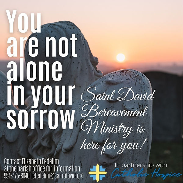 Bereavement Ministry - You are not alone