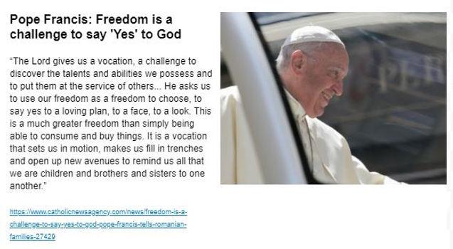 Pope Francis Freedom.JPG