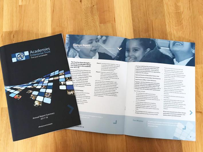 Annual Report Summary