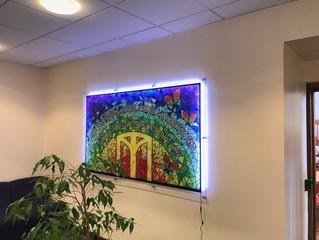 Illuminating artwork