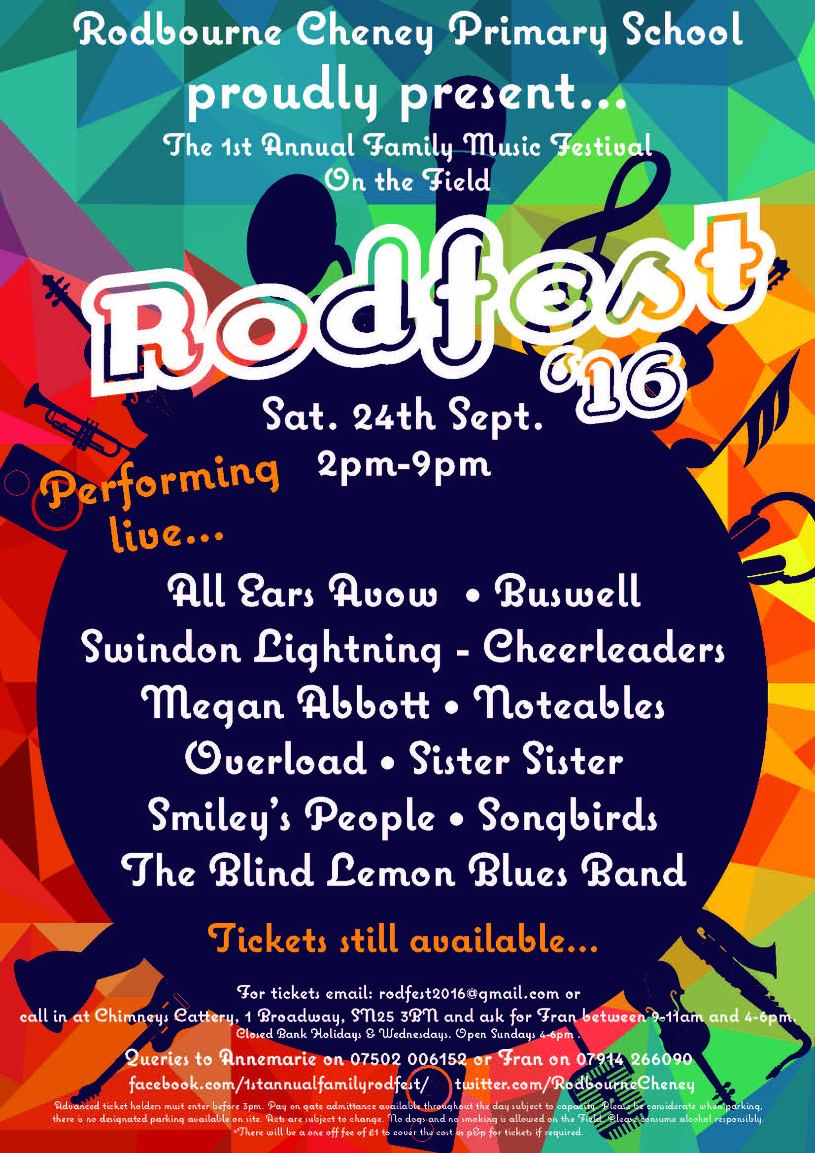 RodFest 16 line up