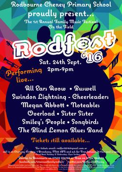 RodFest 16 line up