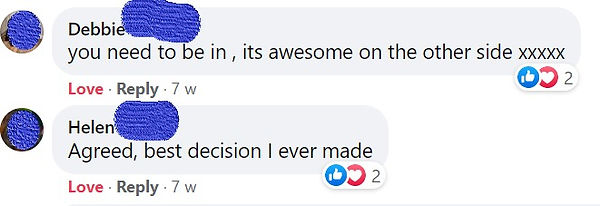 Client feedback comments