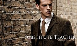 Substitute Teacher Pour Homme