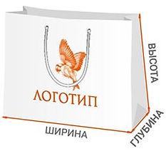 Очень большие пакеты с логотипом
