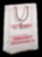 Пакет из прозрачного пластика