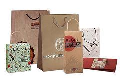 Бумажные пакеты на заказ с логотипом из картона и крафта