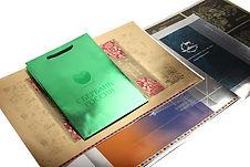 Печать по металлизированному картону