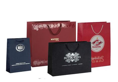 Пакеты из эфалина и дизайнерской бумаги