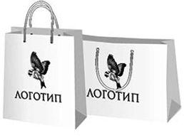 Большие бумажные пакеты с логотипом