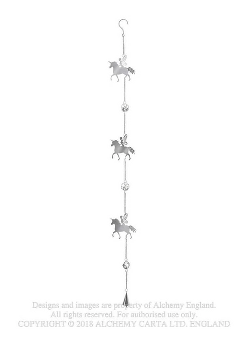 Crystal Fairy Unicorn Hanging Decoration
