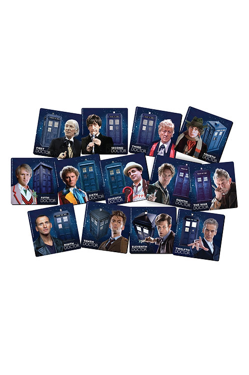 13 Doctor Coaster Set