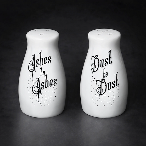 Ashes and Dust Salt & Pepper set
